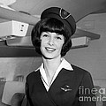 Airline Stewardess by H. Armstrong Roberts/ClassicStock