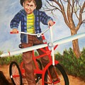 Airplane Bike by Joni McPherson