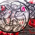 Airplane Grafitti by Alice Gipson