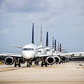 Airport Runway Stacked Up by Gregory Gendusa