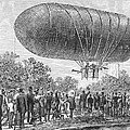 Airship Ascent, 1883 by Granger