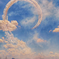 Airshow At The Lou by Susan Rissi Tregoning