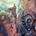 Ajanta Buddha by Shailesh Bodele