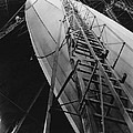 Akron Dirigible Construction by Underwood Archives