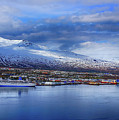 Akureyri Port by Ceri Jones