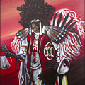 Akwesasne Mohawk by Curtis Mitchell