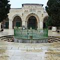 Al Aqsa Main Entrance by Munir Alawi