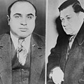 Al Capone Left And His Rival, George by Everett