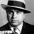 Al Capone Mugshot Painterly by Daniel Hagerman