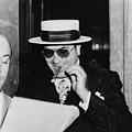 Al Capone, With A Cigar And A Big by Everett