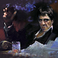 Al Pacino Snow by Ylli Haruni