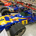 Al Unser Winning Cars At Indianapolis by Steve Gass