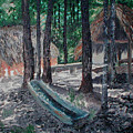 Alabama Creek Indian Village by Beth Parrish
