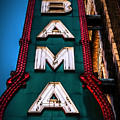 Alabama Theater Sign 1 by Phillip Burrow