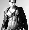 Alan In Leather by Dan Nelson