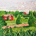 Aland Landscape by Alan Hogan