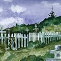 Alaska Graveyard  by Brenda Owen