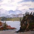 Alaska Inside Passage by Larry Hamilton
