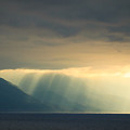 Alaska Inside Passage Under The Clouds by Joni Eskridge