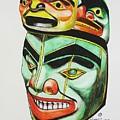 Alaska Masks by Mary Rogers
