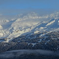 Alaska Mountain View by Rick  Monyahan