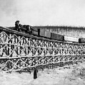 Alaska: Railroad, 1916 by Granger