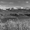 Alaska Range Pano 2 by Peter J Sucy