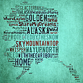 Alaska - Way Up North by Paulette B Wright