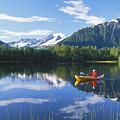 Alaskan Kayaker by John Hyde - Printscapes