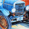 Alaskan Rust II - Model T '27 by Gerald Carpenter