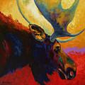 Alaskan Spirit - Moose by Marion Rose