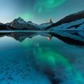 Alaskan Winter Night By Adam Asar 2 by Adam Asar