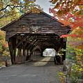 Albany Covered Bridge by Dave Thompsen