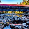 Albany Covered Bridge Reflection by Jeff Folger