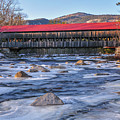 Albany Covered Bridge-white Mountains Of New Hampshire by Expressive Landscapes Nature Photography