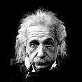 Albert Einstein Circa 1952 by David Lee Guss