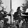 Albert Einstein Giving A Violin Recital by Everett