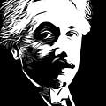 Albert Einstein by Munir Alawi