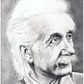 Albert Einstein  by Murphy Elliott