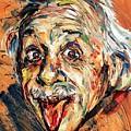 Albert Einstein by Natasha Mylius