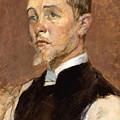 Albert Grenier by Henri de Toulouse-Lautrec