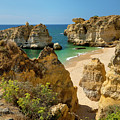 Albufeira Cove by Mikehoward Photography