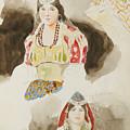 Album De Voyage Au Maroc by Eugene Delacroix