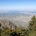 Albuquerque And The Rio Grande by David Lee Thompson