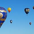 Albuquerque Balloon Festival 4 by Lawrence S Richardson Jr