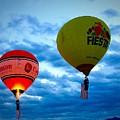 Albuquerque Balloon Festival by Anne Sands