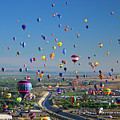 Albuquerque Balloon Fiesta by Tara Krauss