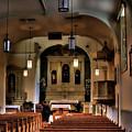 Albuquerque Church by David Patterson