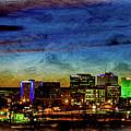 Albuquerque New Mexico Skyline by Rod Jellison