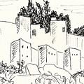 Alcazaba In Malaga by Chani Demuijlder